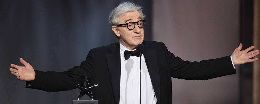 Woody Allen em evento em Los Angeles, em junho de 2017