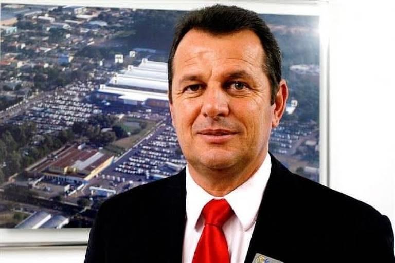Elivir Desiam, ex-prefeito de Estância Velha (RS) que foi encontrado morto
