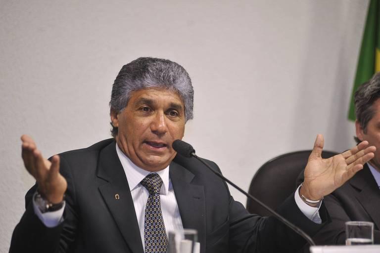Paulo Vieira de Souza, o Paulo Preto, ex-diretor da Dersa, em depoimento no Congresso