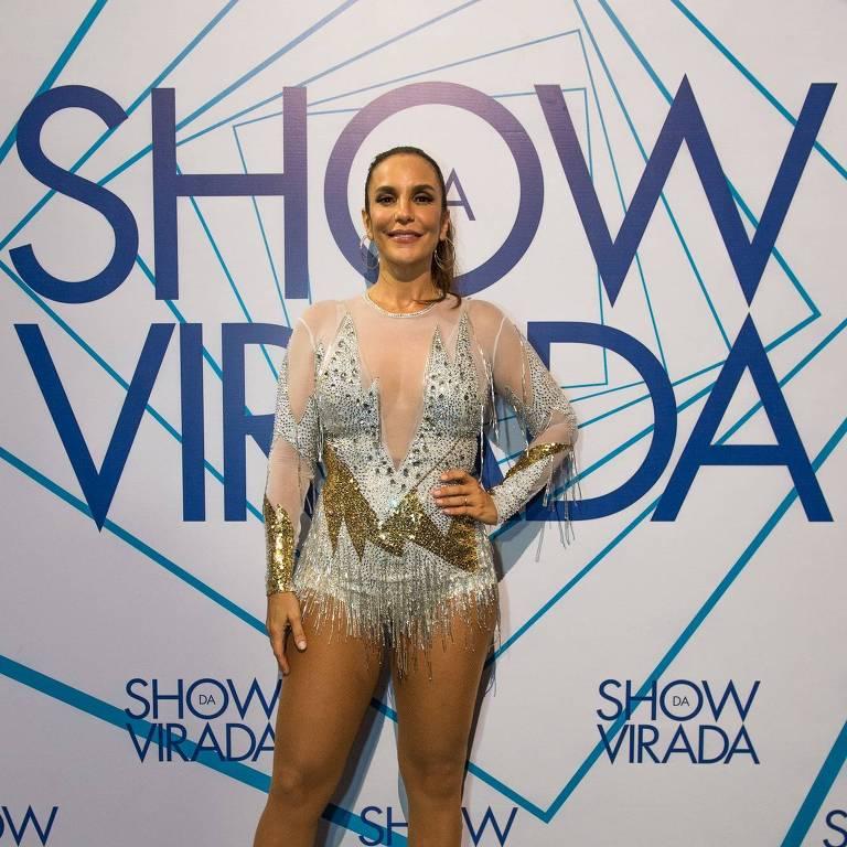 Ivete Sangalo no Show da Virada, gravado no Recife