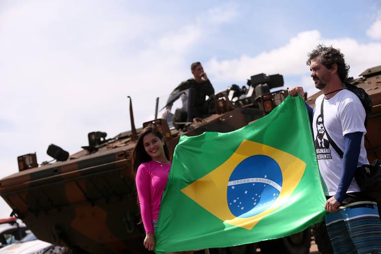 Segundo ensaio para a posse de Bolsonaro
