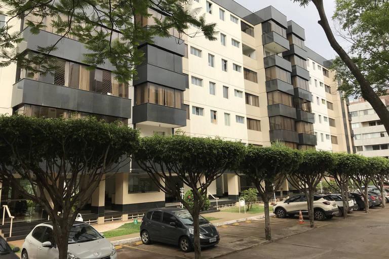 Prédio de Brasília em que Jair Bolsonaro tem um apartamento