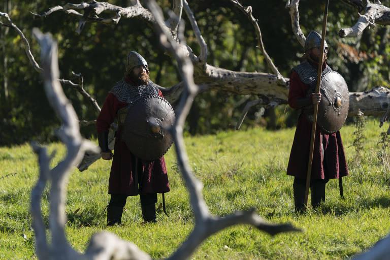 Visita ao set de 'Vikings'