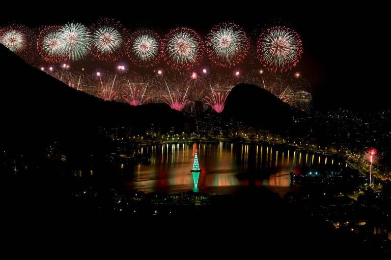 As celebrações de Ano-Novo pelo mundo
