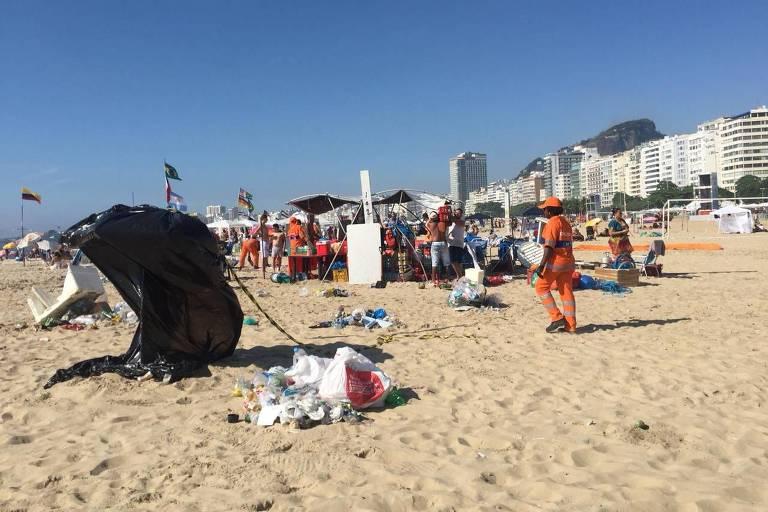 Pós-Réveillon em Copacabana