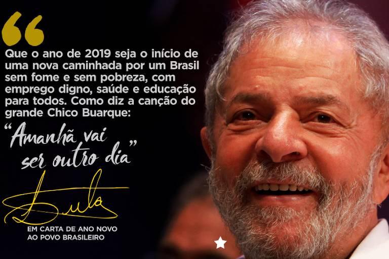 Mensagem de Ano Novo do ex-presidente Lula