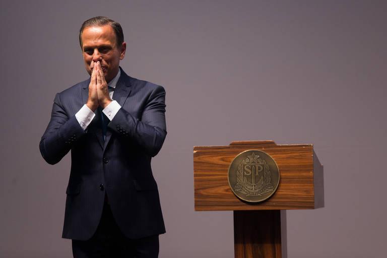 O governador de SP João Doria