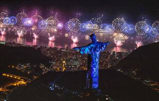 New Year's Eve at Rio de Janeiro's Copacabana Beach