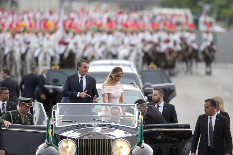 Posse do novo presidente do Brasil, Jair Messias Bolsonaro (PSL), em Brasília