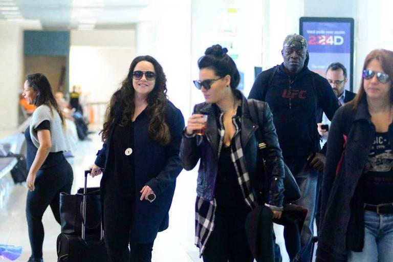 Ana Carolina e Letícia Lima viajam juntas