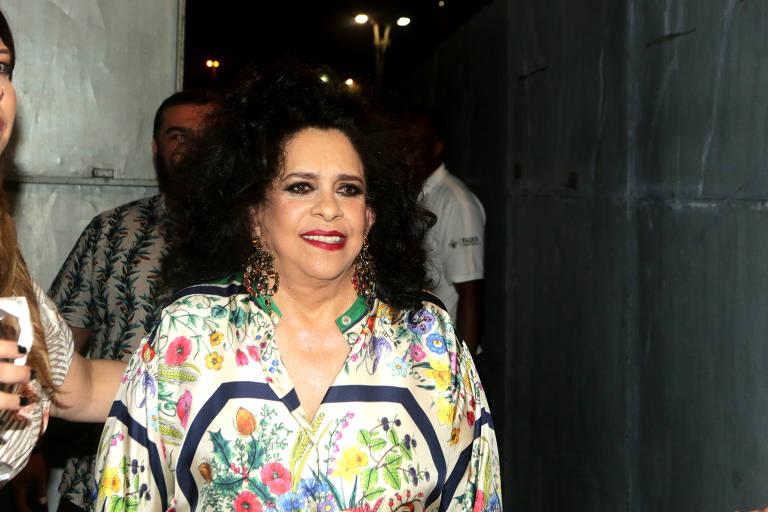 A cantora Gal Costa