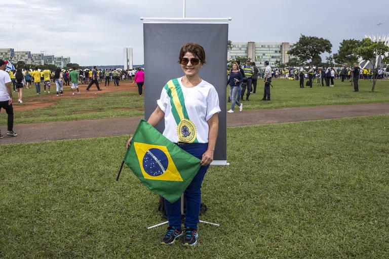 Apoiadores na posse de Jair Bolsonaro
