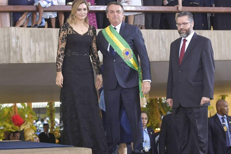 <strong>A posse de Bolsonaro</strong>