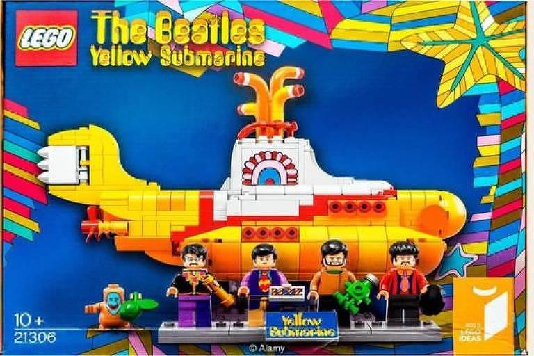O Submarino Amarelo foi sem dúvida um dos primeiros desenhos animados criados com um público jovem e adulto em mente - a Lego criou recentemente um conjunto baseado nele para crianças