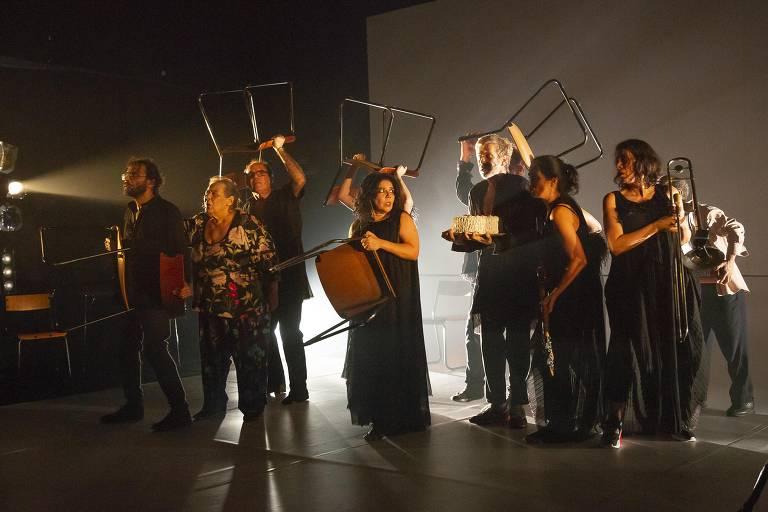 O grupo mineiro Galpão estreia temporada de 'Outros', peça dirigida por Marcio Abreu