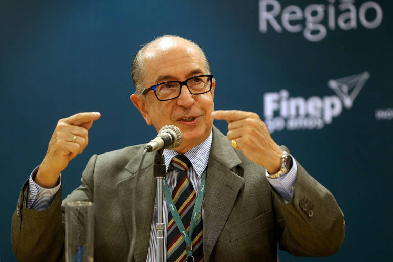 Marcos Cintra, então presidente da Finpe, em encontro sobre inovação