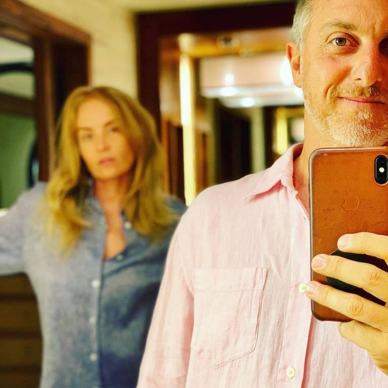 Luciano Huck e Angélica publicam foto e questionam declaração de ministra