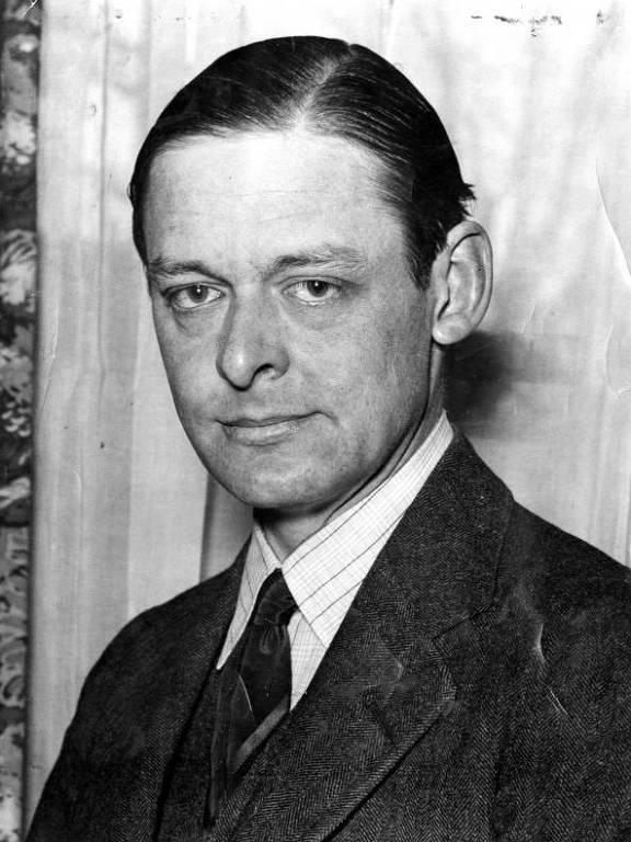 O escritor T. S. Eliot