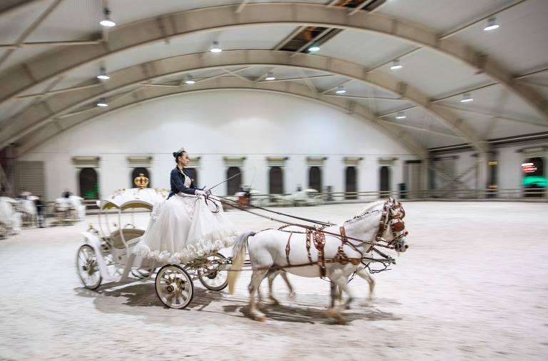 Cavalos e clubes de equitação na China
