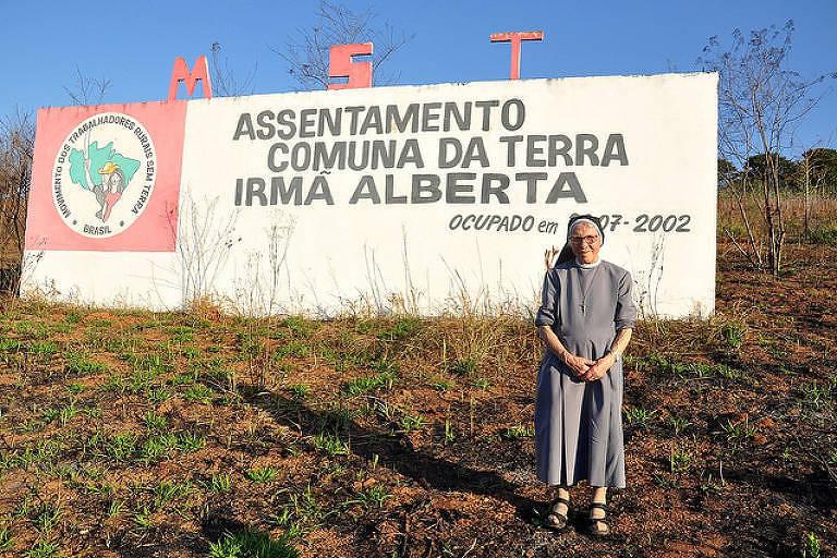 Mortes: A freira italiana que militou pela terra, pelos presos e pelos pobres