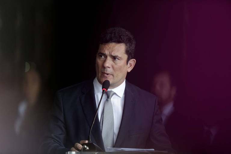 Sergio Moro em cerimônia de posse como novo ministro da Justiça do governo de Jair Bolsonaro (PSL)