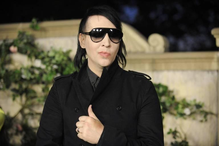O cantor Marilyn Manson