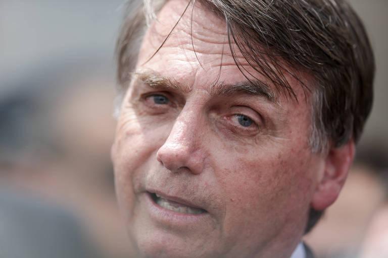 O presidente Jair Bolsonaro, que está sob pressão com suspeitas sobre seu filho Flávio