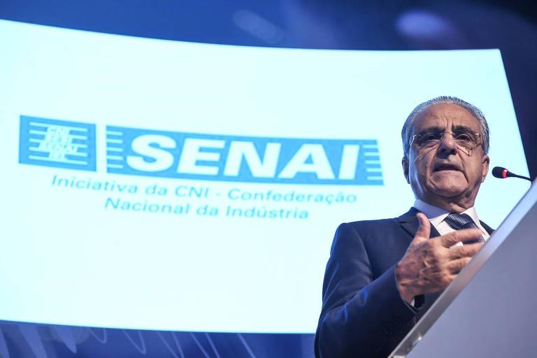 Robson Braga de Andrade, presidente da CNI, no seminário 'O Futuro do Emprego e o Emprego do Futuro' (30.nov.2018)