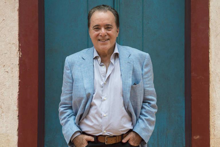 """Tony Ramos está atualmente na novela """"O Sétimo Guardião"""" como o vilão Otávio"""
