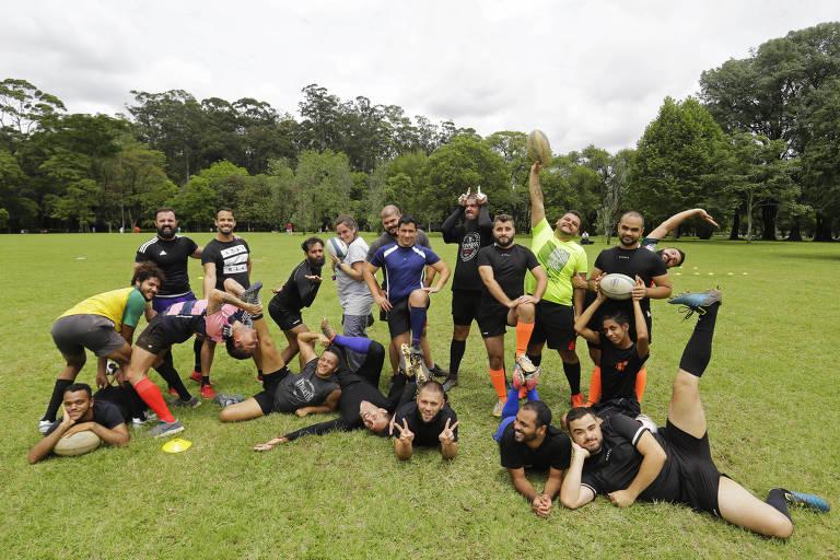 Primeiro time LGBTQ+ de rúgbi do Brasil