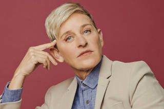 Talk-show host and comedian Ellen DeGeneres in Burbank, Calif.