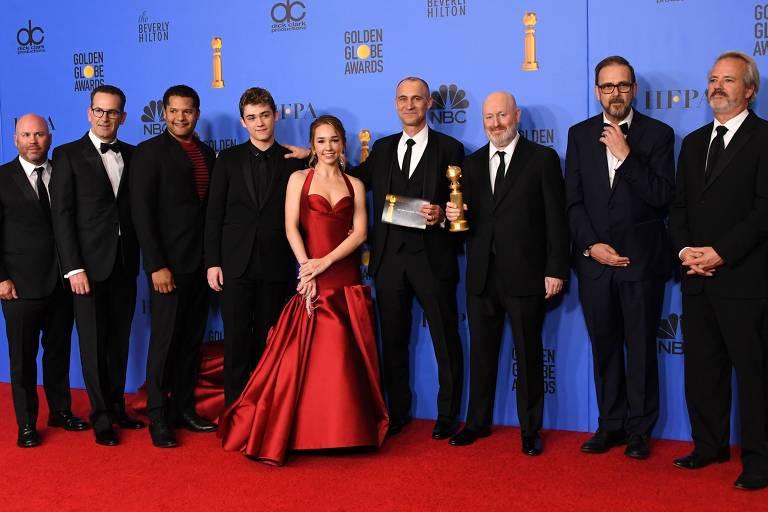 Elenco e equipe da série 'The Americans', vencedora do Globo de Ouro como melhor drama