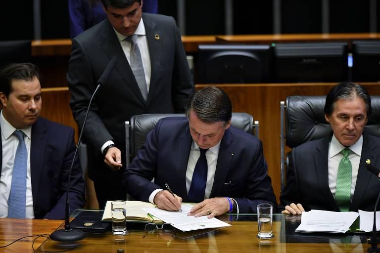 As canetas dos presidentes
