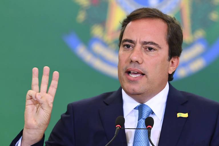 O presidente da Caixa, Pedro Guimarães, em Brasília