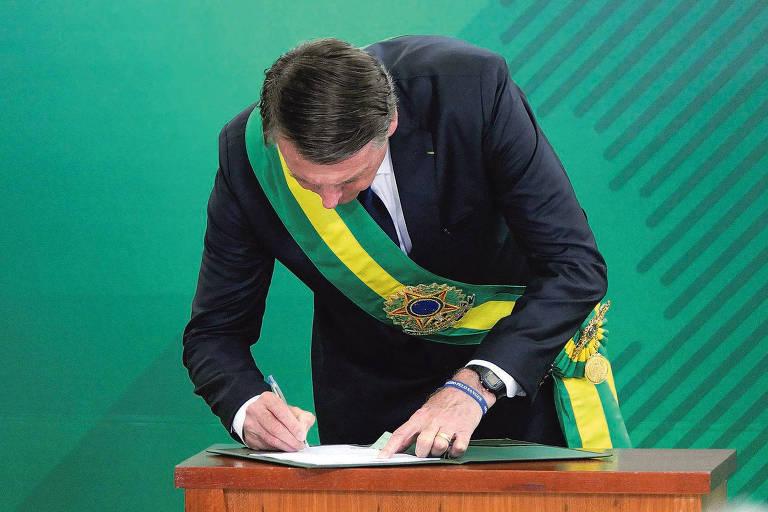 Os 9 recuos de Bolsonaro