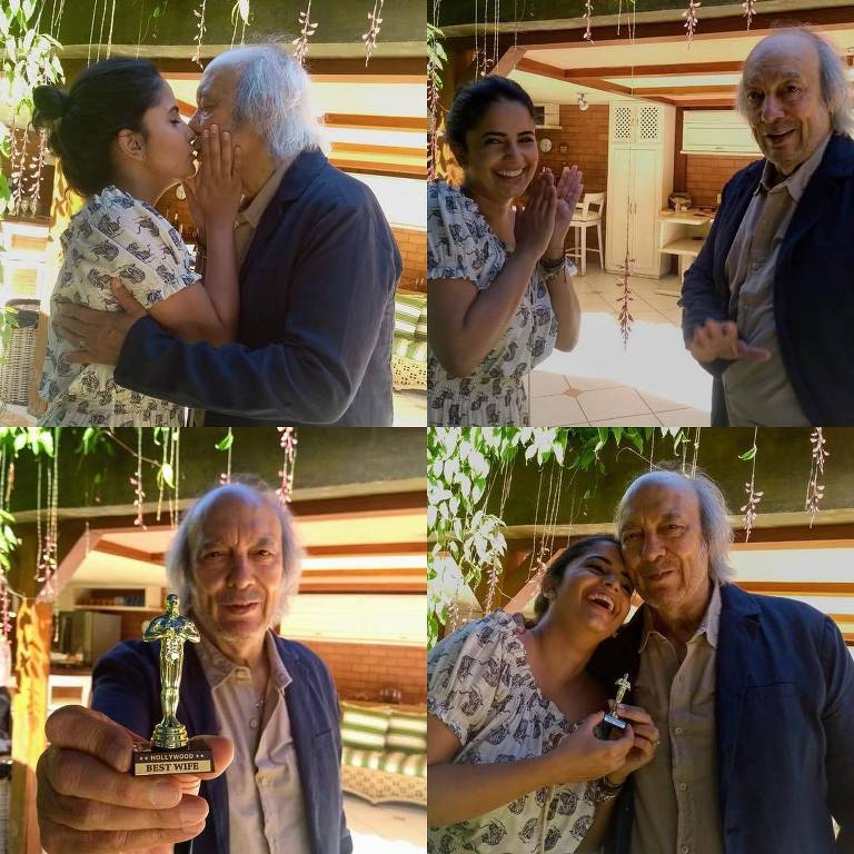 Erasmo Carlos e esposa, Fernanda