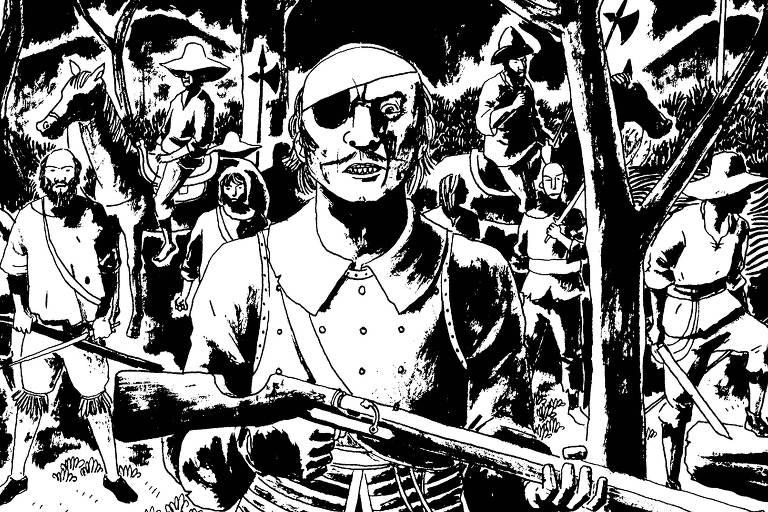 """Exposição: """"Marcelo D'Salete: A História Negra em Quadrinhos"""""""