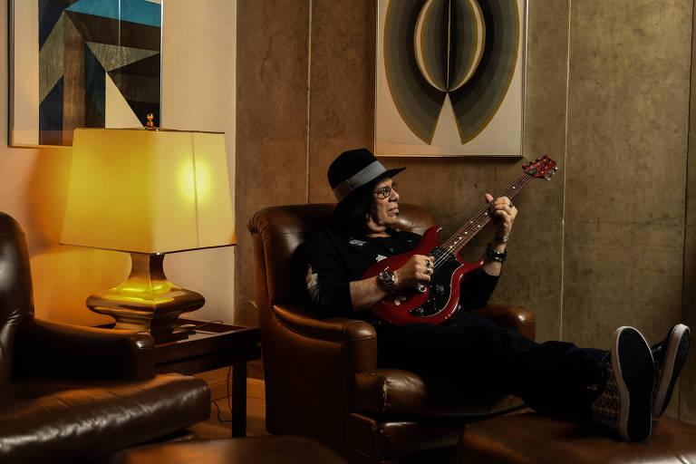 Pepeu Gomes e Jimi Hendrix