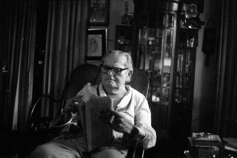 O escritor Luís da Câmara Cascudo, romancista, folclorista, antropólogo e historiador potiguar
