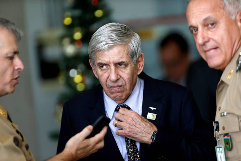 """O ministro-chefe do GSI (Gabinete de Segurança Institucional), general Augusto Heleno; ministro diz que texto da reforma texto """"continua em estudo"""""""