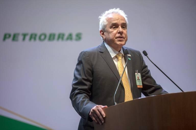 O presidente da Petrobras, Roberto Castello Branco, no Rio