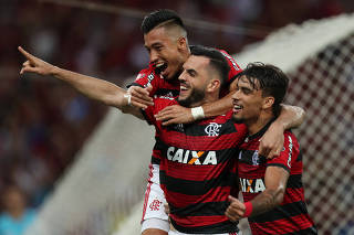 Brasileiro Championship - Flamengo v Atletico Paranaense