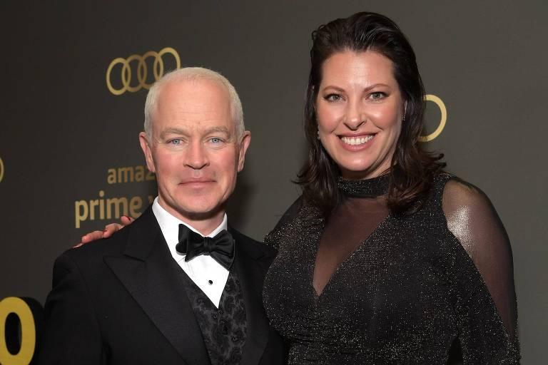 Neal McDonough e a mulher Ruve McDonough