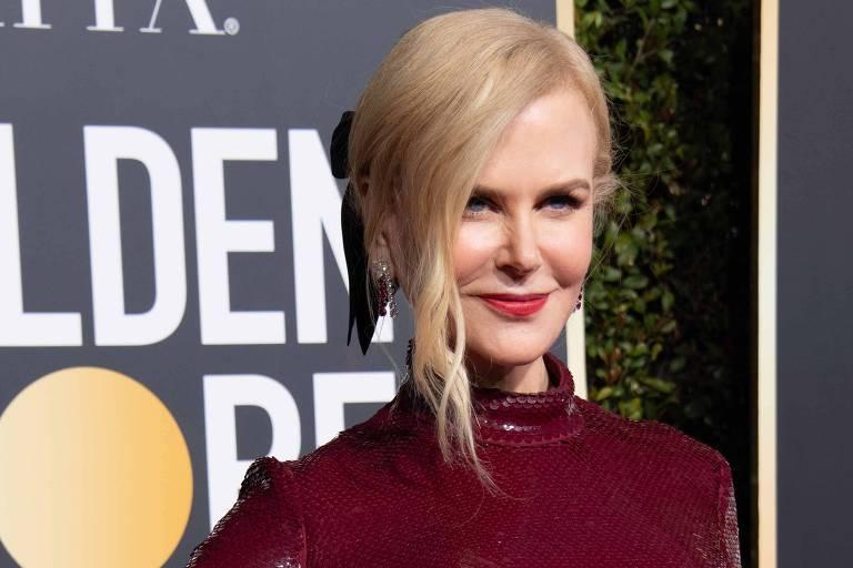 Nicole Kidman no Globo de Ouro 2019