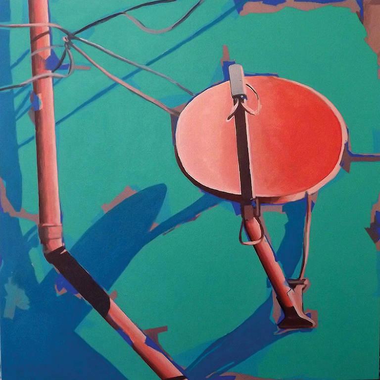 'Sinal' (2018), da artista Carol Peso, exposta no 10º Salão dos Artistas sem Galeria