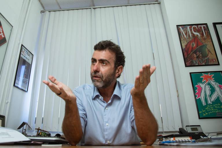 O deputado federal eleito Marcelo Freixo, candidato à presidência da Câmara