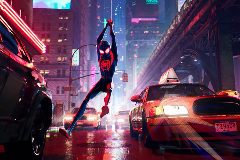 Cena de 'Homem-Aranha: No Aranhaverso'