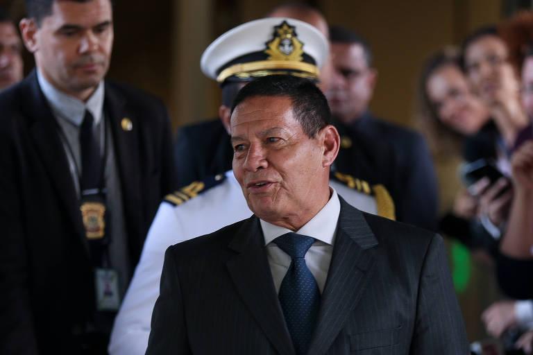 General Hamilton Mourão, vice-presidente da República