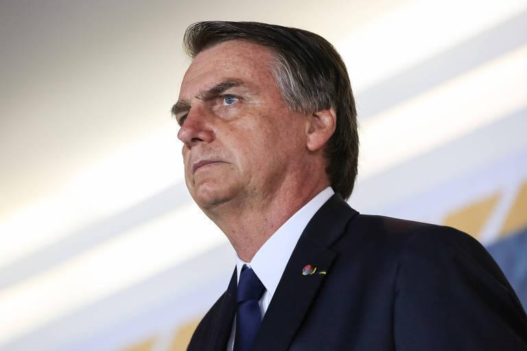 O presidente Jair Bolsonaro, que se manifestou nas redes sociais sobre a prisão de Cesare Battisti