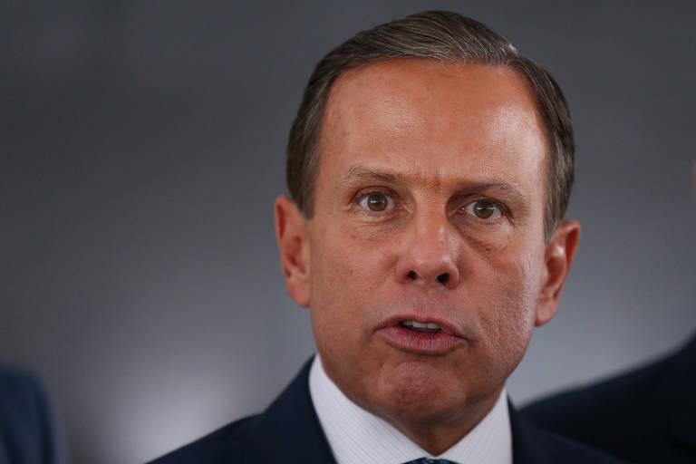 O governador de São Paulo João Doria